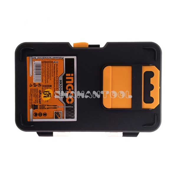 جعبه مجموعه 6 تایی پیچگوشتی ساعتی اینکو مدل HKSD0618
