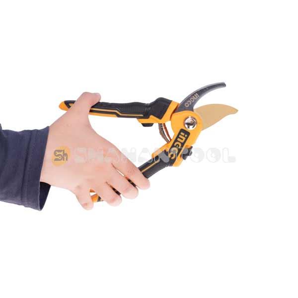 خوش دستی قیچی باغبانی اینکو مدل HPS0601
